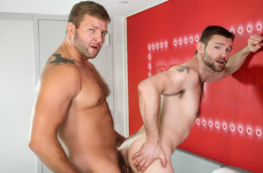 "Colby Jansen fucks Dennis West in ""Just Like Dad"" part four from Men.com"