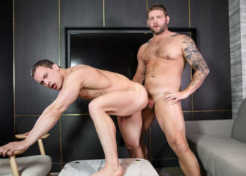 "Tommy Regan bottoms for Colby Jansen in ""Spymaster"" part three from Men.com"