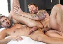 """Colby Jansen pounds Wesley Woods in """"Spymaster"""" part two from Men.com"""