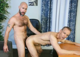 """Damon Andros fucks Rodney Steele in """"Performance Review"""" from Pride Studios"""