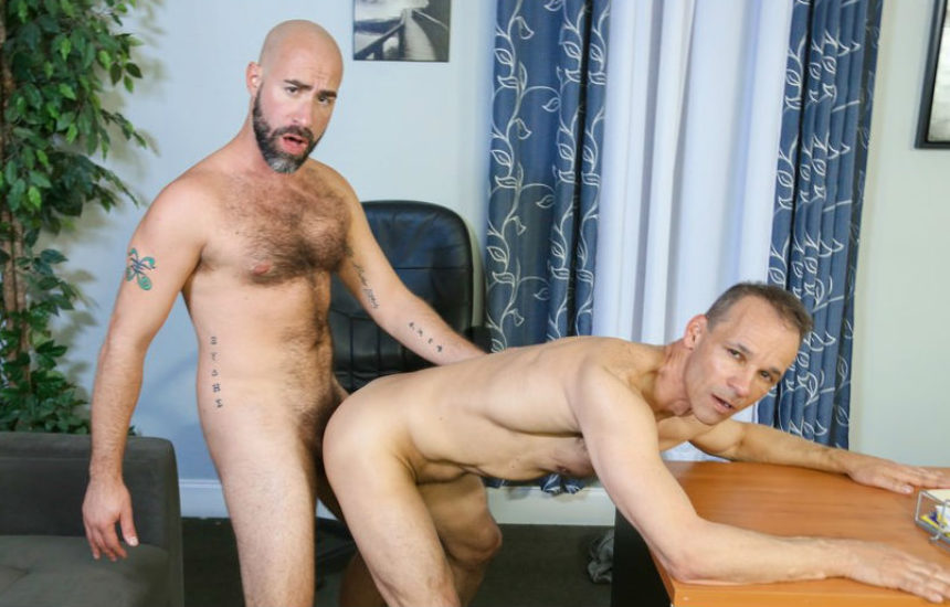 "Damon Andros fucks Rodney Steele in ""Performance Review"" from Pride Studios"
