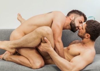 "Hector De Silva and Dato Foland suck and fuck each other in ""Please Stay"" from Men.com"