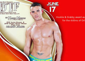 Killian James will be auctioning off his Hookie and Grabby awards for the victims of Orlando