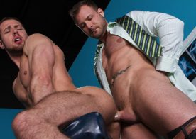 """Austin Wolf pounds Brendan Phillips' sweet hole in """"Doc's Orders"""" part three from Hot House"""