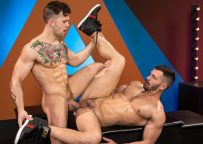 "Inked stud Sebastian Kross fucks Brogan Reed in ""The Thirst Is Real"" part 2 from Raging Stallion"