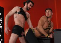 """Woody Fox fucks Josh Conners in """"Slicked Up"""" part one from Hot House"""