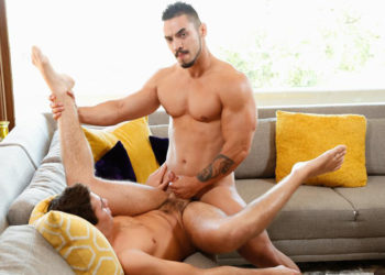 "Max Penn gets fucked by Arad in ""My Brother's Sexy Friend"" from Next Door World"