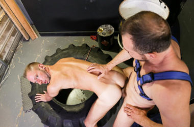 "Max Sargent fucks the cum out of Dek Reckless in ""Backroom Scent"" from Pride Studios"