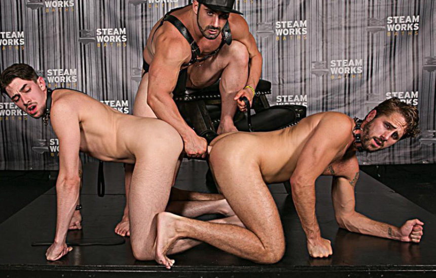 "Jaxton Wheeler dominates Wesley Woods and Jack Hunter in ""The Steam Room"" part two"