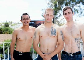 Hot marines Will, Chase and Johnny for Active Duty