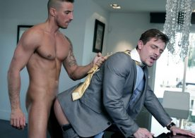 "Klein Kerr rides Carter Dane's ass in ""Get Even"" from Men At Play"
