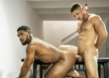 """Hot muscle top Dato Foland pounds XL in """"Discover"""" from Men.com"""