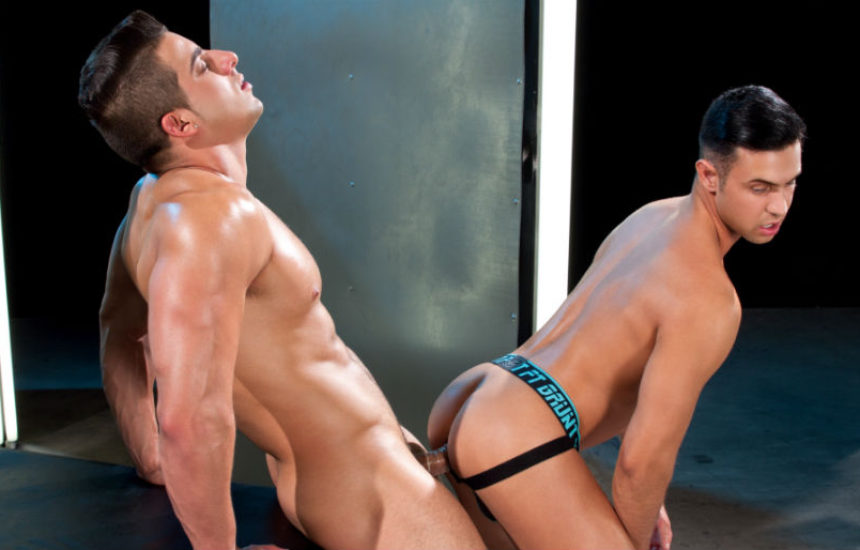 "Jacob taylor fucks Josh Conners in ""Ultra Sex"" part four from Falcon Studios"