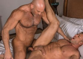 """Jesse Jackman and Bruce Beckham fuck each other in """"Rent"""" from Titan Men"""