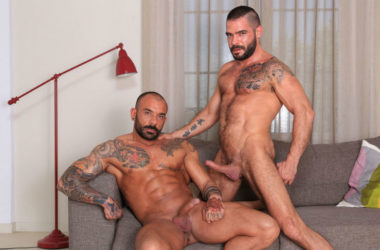 "Juanjo Rodriguez fucks Cody Banx in ""Horndogs"" part 5 from Kristen Bjorn"