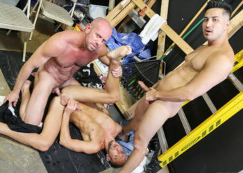 Hunter Vance, Matt Stevens and Dek Reckless in a smoking hot threesome from Pride Studios
