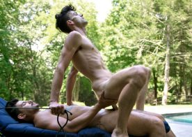 Ricky Roman and Cory Kane in a hot flip-fuck video from CockyBoys