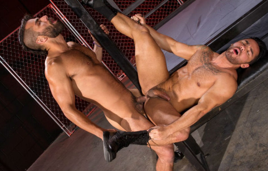 "Bruno Bernal has a primal urge for Adam Ramzi in ""Primal"" part 1 from Raging Stallion"