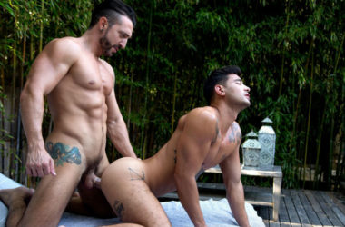 Rock hard Jimmy Durano Fucks hunky Ricky Roman at CockyBoys