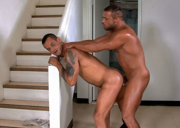 "Micah Brandt slams David Benjamin's ass in ""Silverlake"" part three from Titan Men"