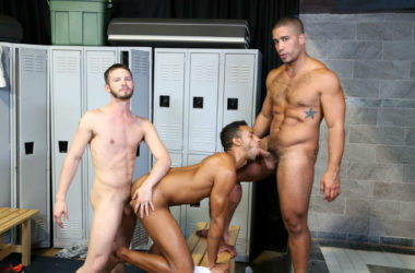 Trey Turner gets fucked by Jay Alexander and Asher Devin at Pride Studios