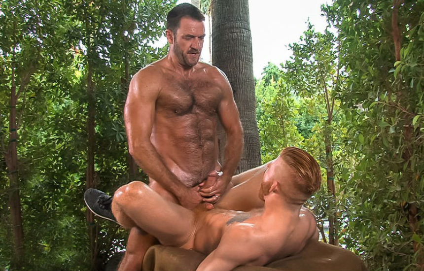 "Parole officer Anthony London fucks Bennett Anthony in ""Parole"" part one from Titan Men"