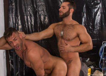 "Eddy Ceetee and Bruce Beckham fuck each other in ""Parole"" part two from Titan Men"