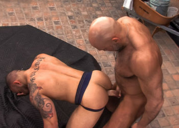 "Officer Jesse Jackman fucks Lorenzo Flexx in ""Parole"" part three from Titan Men"