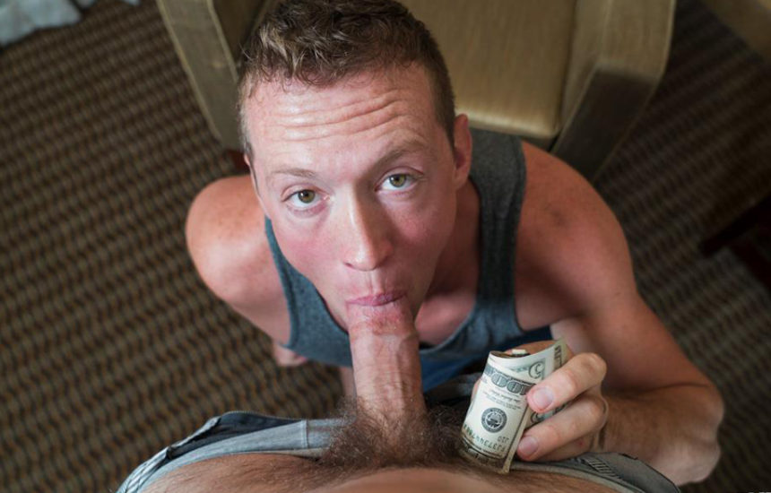 Hot straight muscle hunk Pierce ends up with a big dick up his ass at Reality Dudes