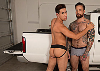 "Jordan Levine breeds Orlando Fox's ass in ""Raw Tension"" part 3 from Bromo.com"