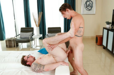"Paul Canon pounds Markie More in ""Bros who Blow"" from Next Door World"