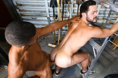 "Mike De Marko and Mike Maverick flip-fuck in ""Big Dick Rental"" from Pride Studios"