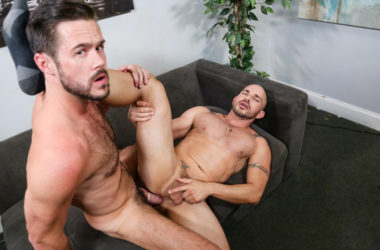 "Mike De Marko rims and fucks Alex Torres' ass in ""Big Dick Tech"" part two"