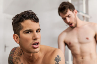 "Philip Zyos fucks Pierre Fitch's bubble butt in ""Charmed"" from Men.com"