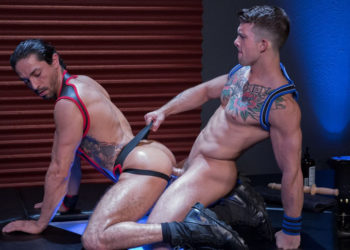 "Mikoah Kan takes a hard pounding from Sebastian Kross in ""Skuff: Rough Trade 2"" part four"