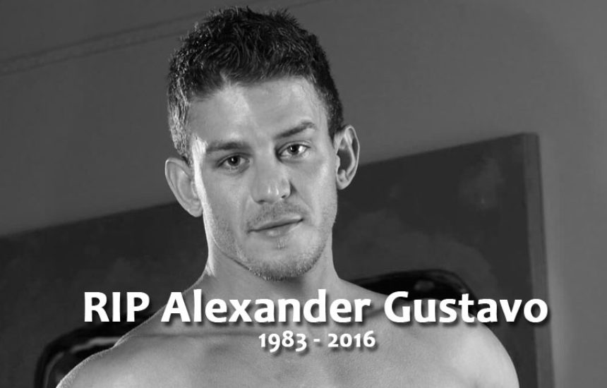 Sad news: Porn star Alexander Gustavo took his own life (R.I.P)