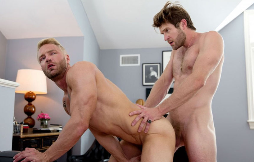"Colby Keller fucks Will Wikle in ""The Stillest Hour"" part two from CockyBoys"