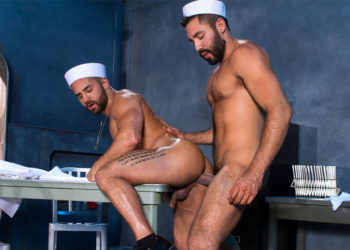 "Gabriel Taurus plows Bruno Bernal's ass hole in ""Destroyer"" part four from Raging Stallion"