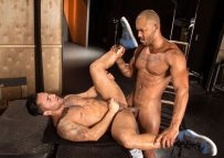 """Bruno Bernal bottoms for Jason Vario in """"Backstage Pass 2"""" part two from Raging Stallion"""