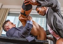 Alexander Volkov takes Sean Xavier's massive 10 inch cock at Lucas Entertainment