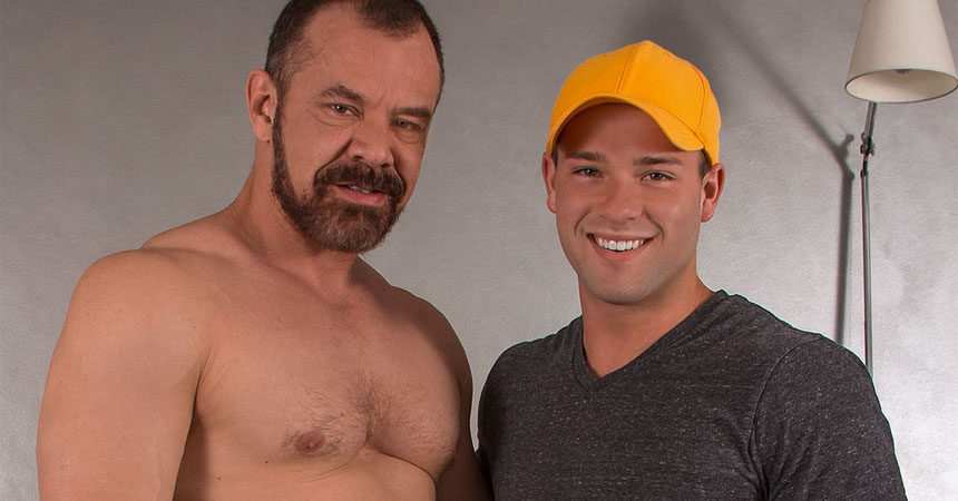 "Luke Adams takes Max Sargent's daddy cock in ""Stopover in Bonds Corner"" part two"