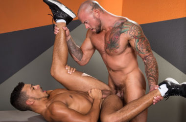 "Sean Duran fucks Tyson Glover in ""State of Arousal"" part one from Raging Stallion"
