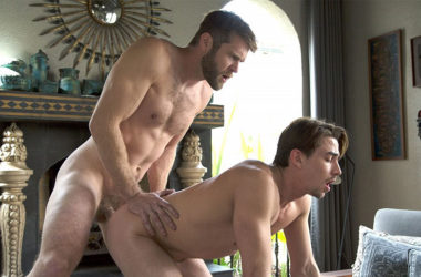 Colby Keller drills Jack Hunter's hungry hole at CockyBoys