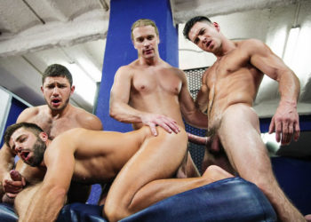 "Johan Kane, Paddy O'Brian, Dato Foland & Hector De Silva fuck in ""Made You Look"" part 4"