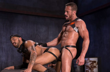 """Talon Reed takes Myles Landon's fat cock in """"Wasteland"""" part two from Raging Stallion"""