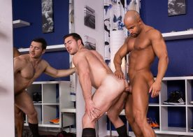 "Sean Zevran fucks Derek Bolt in ""Depths of Focus"" part three from Hot House"