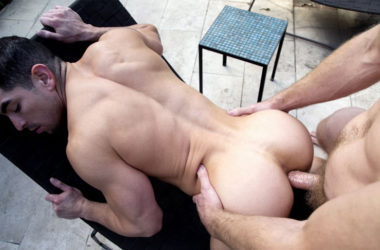 Colby Keller plows Jeremy Spreadums' fine piece of ass at CockyBoys