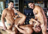 """Jimmy Durano, Jackson Grant and Dirk Caber fuck in """"Heartbreakers"""" part two from Men.com"""