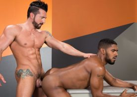 "Jimmy Durano plows XL's delicious ass in ""State of Arousal"" part four from Raging Stallion"
