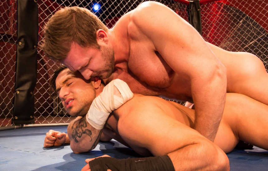 """Austin Wolf fucks Josh Conners in """"TKO: Total Knockouts"""" part one from Hot House"""